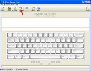 Key Blaze Typing Tutor